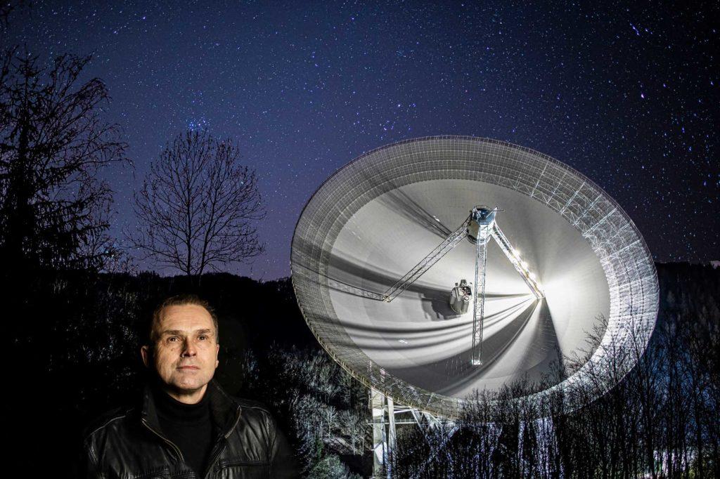 industriefotograf, industriefotografie, teleskop, astrophysiker
